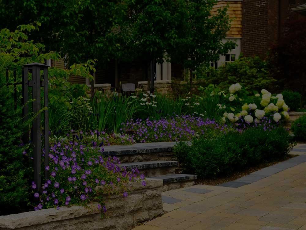 Saylorsburg Commercial Garden Design