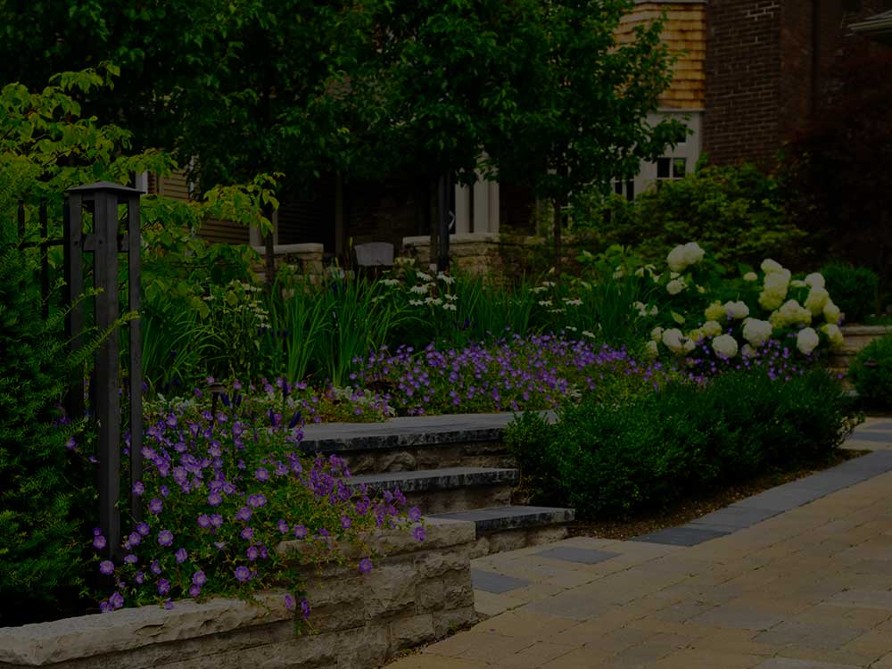Brodheadsville Commercial Garden Design
